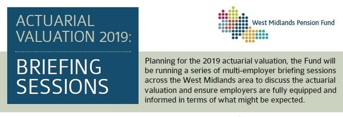 Actuarial Valuation 2019 briefing sessions