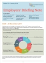 image of Employer Brief 33 (January 2018)