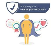 Our pledge to comabt pension scams.