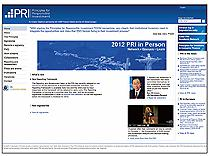 United Nations Principles for Responsible Investment (UNPRI) This link opens in a new browser window