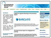 Local Authority Pension Fund Forum (LAPFF) This link opens in a new browser window