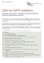 image of Freedom and choice - Q&A for members