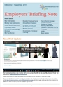 image of Employer Brief 32 (September 2017)